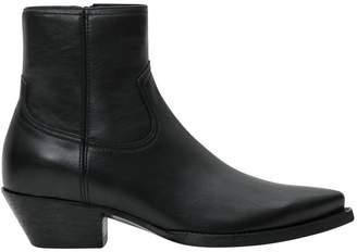 Saint Laurent Lukas Zipped Boots