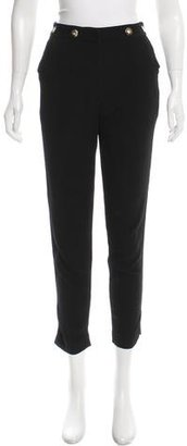 Sandro Grommet-Accented Skinny Pants $65 thestylecure.com