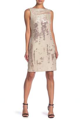 Julia Jordan Sleeveless Sequin Dress