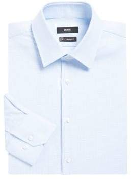 HUGO BOSS Regular-Fit Cotton Button-Down Dress Shirt