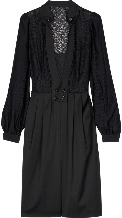 Mayle Gia poet sleeve dress