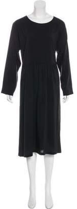 eskandar Silk Midi Dress
