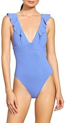 Robin Piccone Jennie Plunge One-Piece Swimsuit