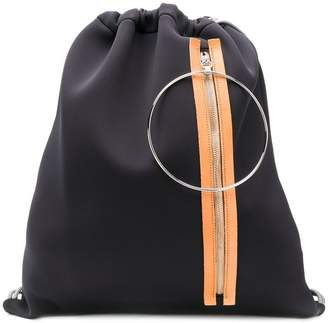 6f50cd493381 Drawstring Backpack With Zipped Pocket - ShopStyle UK