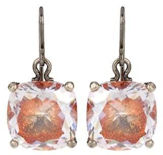Bottega Veneta Sterling silver earrings with cubic zirconia