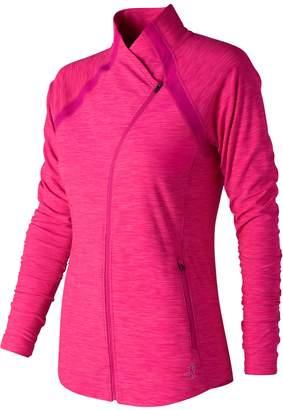 New Balance Women's Pink Ribbon Anticipate Jacket