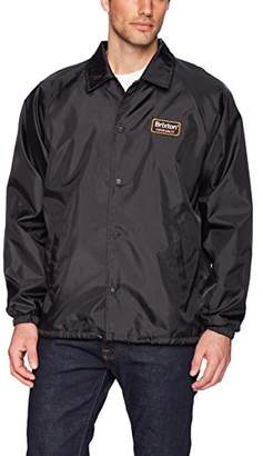 Brixton Men's Palmer Standard Fit Windbreaker Jacket