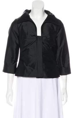 Rene Lezard Ruched Evening Jacket