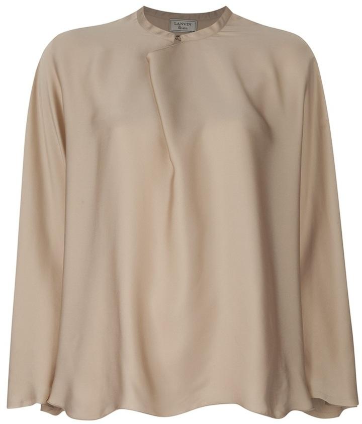 Lanvin loose fit blouse