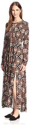 Allison Collection Women's Kaleidoscope Maxi Dress