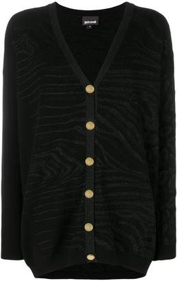 Just Cavalli v-neck cardigan