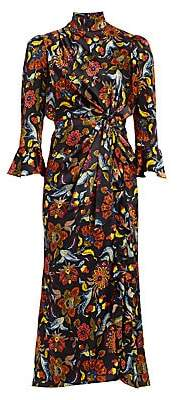 Cinq à Sept Women's Juliana Paisley-Print Midi Dress - Size 0