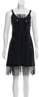 Marc by Marc Jacobs Sequined Knee-Length Dress