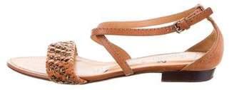 Lanvin Chain-Embellished Multistrap Sandals