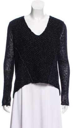 Helmut Lang Wool & Silk-Blend Sweater w/ Tags