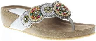 Spring Step Azura by Leather Slide Wedge Sandals - Urla