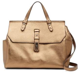 Liebeskind Berlin Idaho Pebbled Leather Top Handle Satchel