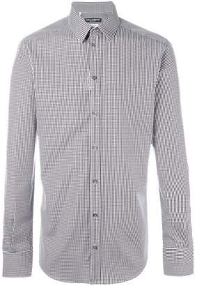 Dolce & Gabbana gingham check shirt