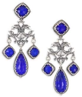 Konstantino Andromeda Lapis and Sterling Sliver Earrings