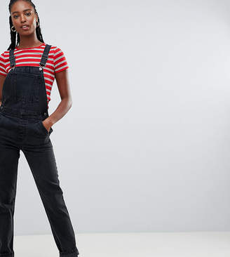 a8bd44e2 Asos Tall DESIGN Tall denim dungaree in washed black