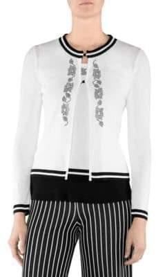 Stizzoli, Plus Size Embellished Cardigan
