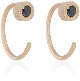 Melissa Joy Manning black tourmaline earrings