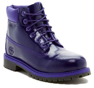 "Timberland 6"" Premium Waterproof Leather Boot (Big Kid) - Wide Width Available"