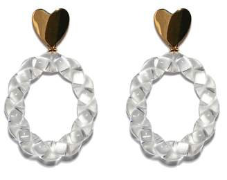 Lizzie Fortunato Saint Valentine Earrings