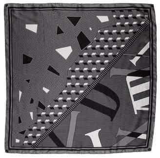 Audemars Piguet Printed Silk Scarf