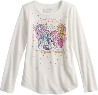 "My Little Pony Girls 4-10 Jumping Beans Magical Friends"" Tee"