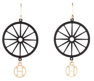 Hermes Crazy Calèche Earrings