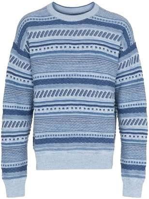 Martine Rose Napa By D-Alder stripe knitted jumper