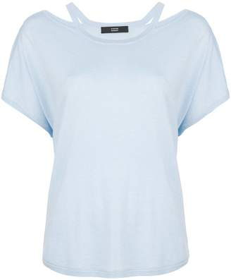 Steffen Schraut off-the-shoulder T-shirt