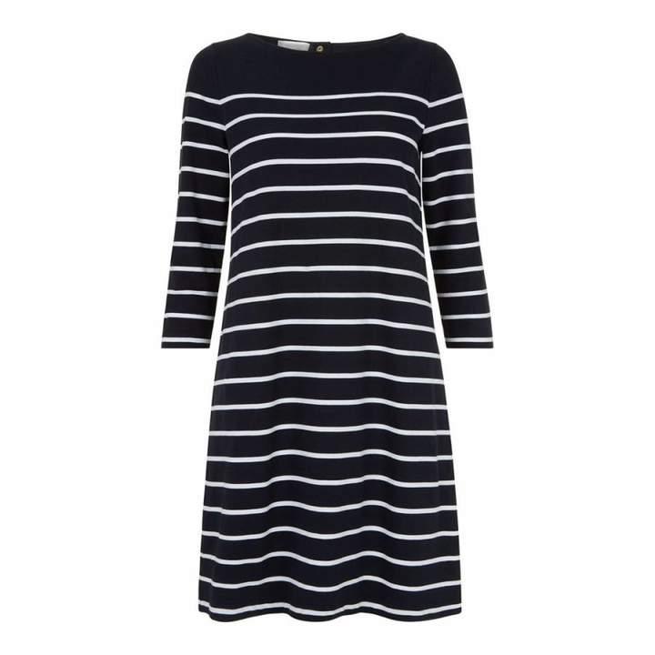 Navy/Ivory Bailey Dress