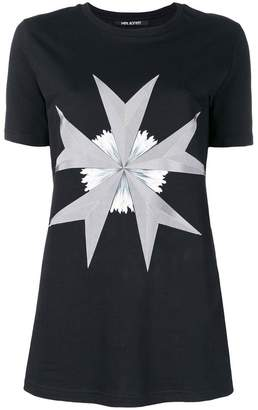 Neil Barrett Military star print T-shirt