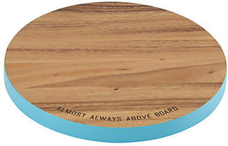 Kate Spade Wooden round cutting board