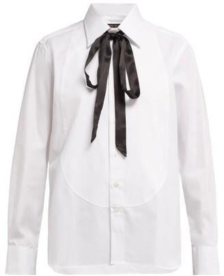 Emma Willis - Slim Fit Cotton Shirt - Womens - White