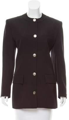 Guy Laroche Structured Wool Jacket