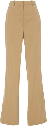 Michael Kors Flare High Waist Wool-Blend Pants