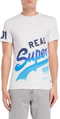 Superdry Vintage Wrap Logo Tee