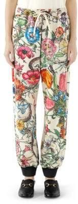 Gucci Floral Jogging Pants