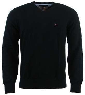 Tommy Hilfiger Mens Long Sleeve Pacific V-Neck Pullover Sweater - M