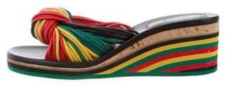 Chloé Multistrap Slide Sandals