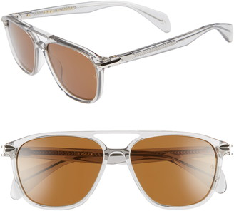 Rag & Bone 54mm Gradient Aviator Sunglasses