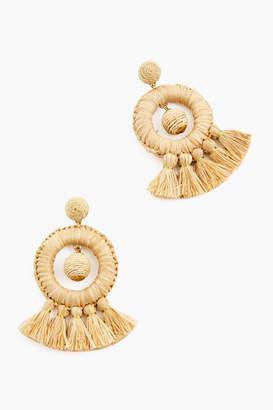 Jocelyn Navy Dreamcatcher Earrings