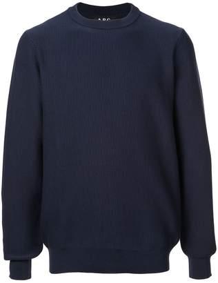 A.P.C. ribbed sweatshirt