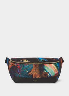 Paul Smith Men's Canvas 'Explorer' Print Bum Bag