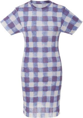 The Elder Statesman M'O Exclusive Printed Cotton Mini Dress