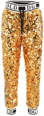 Dolce & Gabbana Sequinned Sweatpants