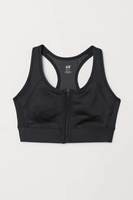 H&M Breast Form Sports Bra - Black